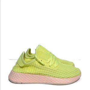 Women's Adidas Originals Deerupt Yellow Glow